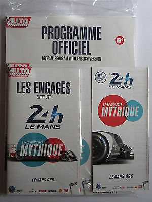 Le Mans 2017 Programme With Poster And Inserts Brand New Sealed Porsche 919 Win