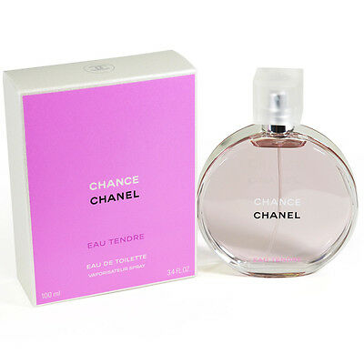 Authentic Chanel Chance Eau Tendre, EDT, 100ml, Brand New in Box