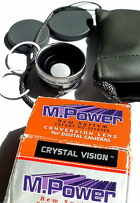 Wide Angle Lens 0.45X With Macro For Compact digital Cameras