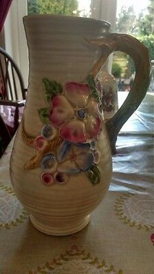 Beautiful Floral Clarice Cliff Vase In Great Condition