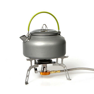 Outdoor Coffee Teapot Camping Hiking Picnic BBQ Kettle Water Pot Aluminum #A