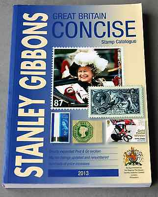 Stanley Gibbons Great Britain Concise catalogue 2013 - USED
