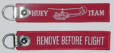 Schlüsselanhänger HUEY TEAM - Remove Before Flight .......R1048