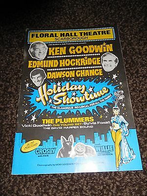 Ken Goodwin Collectable Theatre Programme 1982 - Floral Hall Theatre Scarborough