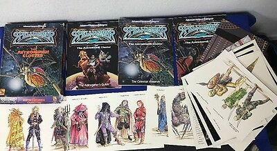 AD&D 2nd Edition TSR Spelljammer The Astromundi Cluster boxed set, complete (1A)