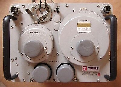General Radio Company 1606B R - F Bridge - Serial #2702