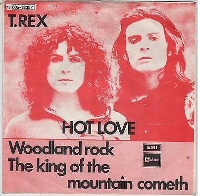 t rex MARC BOLAN HOT LOVE NORWEGIAN  issue