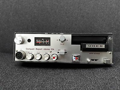 Rare Vintage UHER Compact Report Stereo 124 Professional Cassette Recorder