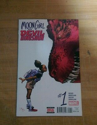 Moon Girl and Devil Dinosaur #1 first print high grade first appearance Moongirl
