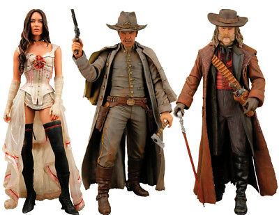 "JONAH HEX - 7"" Action Figure Set (3) NECA #NEW"