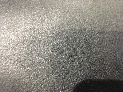 Black Upholstery cow Hide Furniture leather
