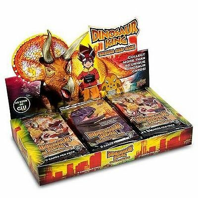 DINOSAUR KING - Trading Card Game Factory Sealed Booster Box (Upper Deck) #NEW
