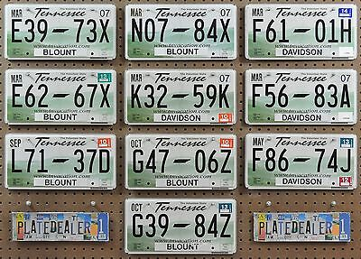 10 TENNESSEE Rolling Hills Flat License Plates Tags Signs Man Cave Decor LOT 973