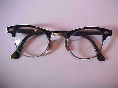 Vintage Artcraft Cat Eye Glasses ~ 1/10 12K Gold Filled ~ Nice Pair