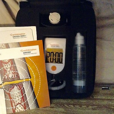 Exogen 4000+ Ultrasound Bone Healing  Only 32 Sessions Used!