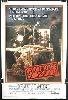 Report to the Commissioner (1975) – Original One Sheet Movie Poster **Crime**
