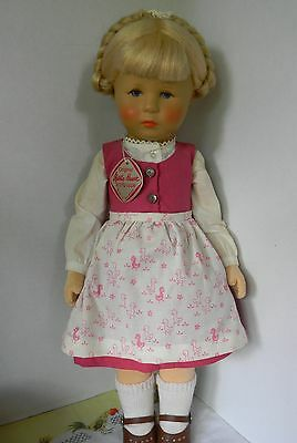 "Adorable Tagged  1987 KATHE KRUSE 19"" DOLL"