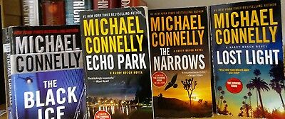 Michael Connolly paperback books Lot of 4