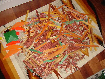 Lincoln Logs Lot 6.5 Lbs