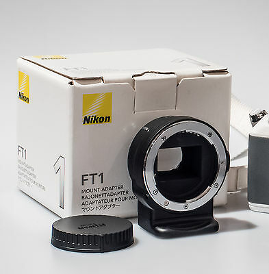 Nikon FT1 Mount Adapter F-Mount Adapter for Nikon 1 Cameras