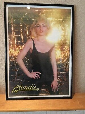 Blondie Poster Debbie Harry Vintage