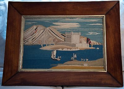 Antique Sailor's Woolwork English 19th C. (I OWN 12 WOOLIES  AND BUY SELL TRADE)