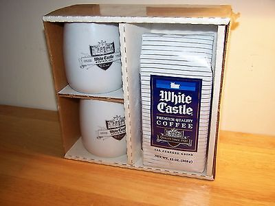 White Castle Mug & Coffee Gift Set New in Package