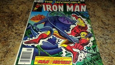 Iron Man #111 (Jun 1978, Marvel) VF/VF+