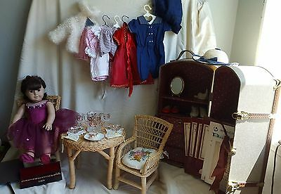 Pleasant Co. Original Samantha American Girl Doll with lots of accessories!