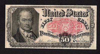 50 Cent Fifth Issue Fr 1381 Fractional Currency
