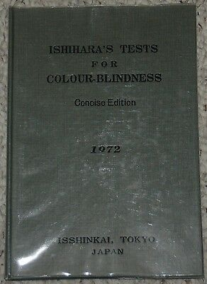 Ishihara's Tests For Colour-Blindness, Concise Edition 1972