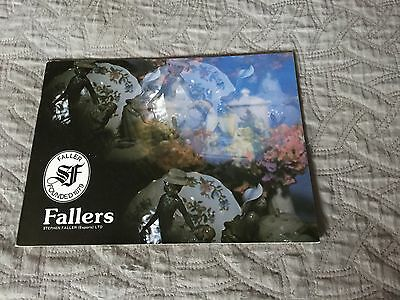 Vintage Fallers Catalogue, Stephen Gallery (Exports) LTD Ireland