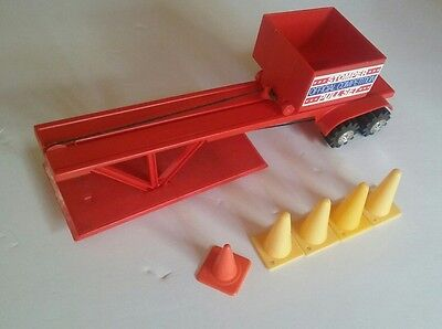 Official Competition Stomper Pull Set Vintage 4x4 Toy Car Sled