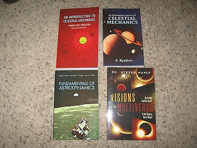 CELESTIAL MECHANICS & ASTRODYNAMICS books lot of 4 Visions of the Multiverse NEW