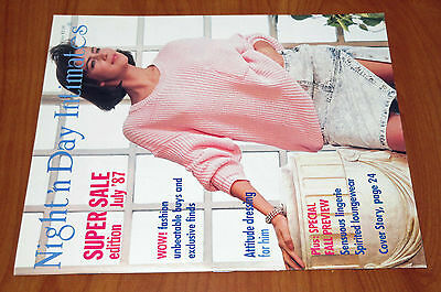 Night 'n Day Intimates lingerie catalog July 1987, very good+