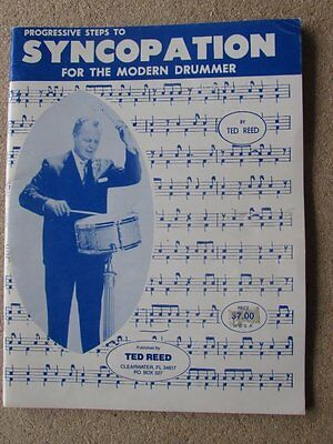 Progressive Steps to Syncopation for the Modern Drummer, Excellent Lesson Book