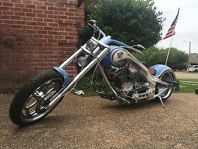 2007 Custom Built Motorcycles Chopper  Custom Built Baseball Chopper
