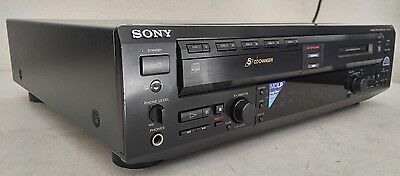 Sony MXD-D5C 5-Disc CD Changer/MiniDisc Player Deck -New Belts- *Tested/Works*