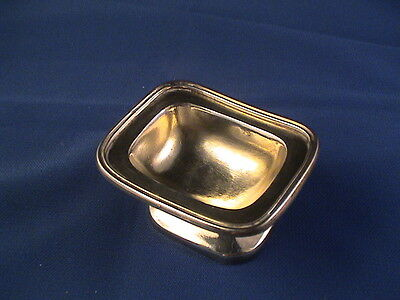 Antique Austria Austro-Hungarian Prague 800 silver salt cellar (4 available)
