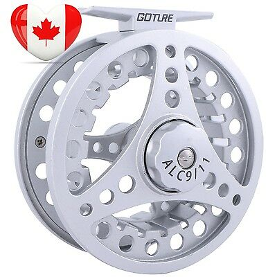 Goture Aluminum Frame Spool Fly Fishing Reel 5 6 7 8 9 11 Weight 2 1BB Ball...