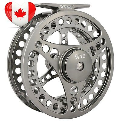Goture Fly Fishing Reel Waterproof 2 1BB 5 6 7 8 9 10 Aluminum Alloy Body...
