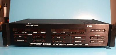 Sae Computer Direct Line Parametric Graphic Equalizer Model E 101 Tested Working
