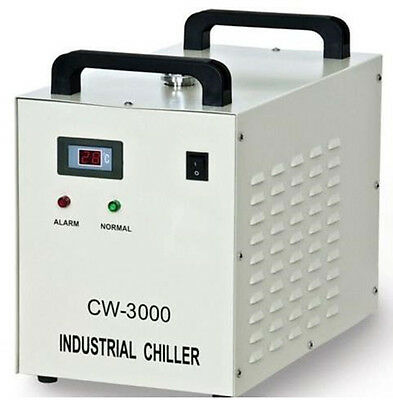 Industrial Water Chiller for CNC/ Laser Engraver Engraving Machines CW-3000 220V