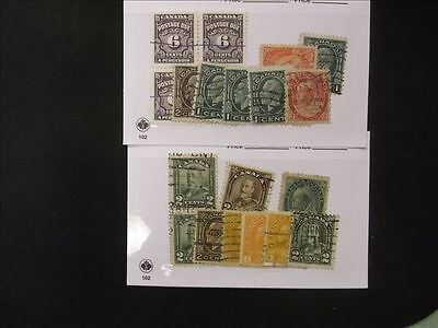 Canada Lot of 2 Stamp Packs