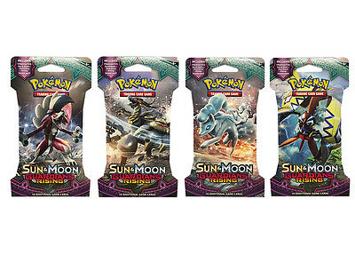 POKÉMON TCG Sun & Moon Guardians Rising single booster pack