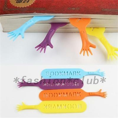 4pcs Funny Help Me Bookmarks Note Pad Memo Stationery Book Mark Novelty Gift