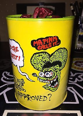 Original Rat Fink Ed Roth Kustom Low Brow Oil Can. Cool!