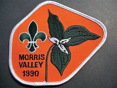 Boy Scouts Canada Morris Valley 1990 British Columbia  Patch Cubs
