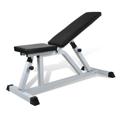 Adjustable Fitness Workout Weight Bench Press Home Gym Exercise Sit Up Decline
