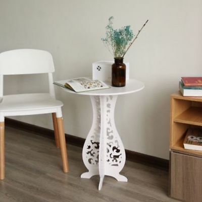 Small Telephone Table Round Coffee Tea Table  Stand Lamp Hall Home Furniture